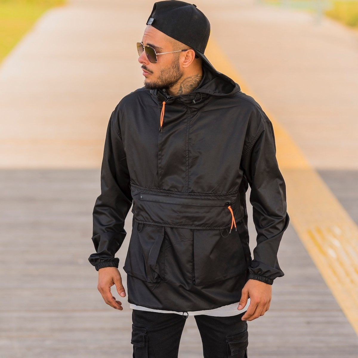 Men's Rainproof Tactical Hoodie