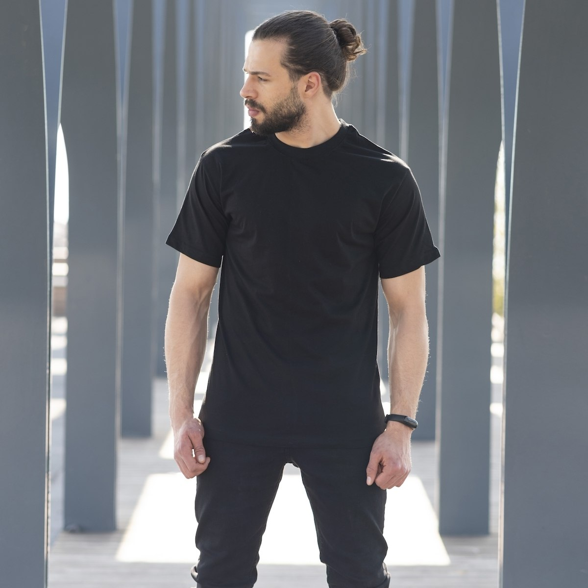 Men's Oversize T-shirt In Black