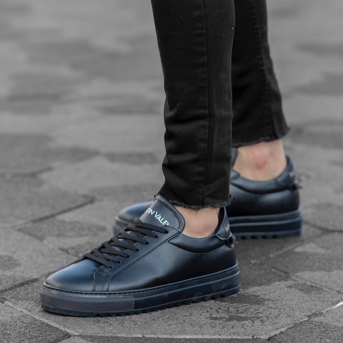 Men's Flat-Sole Sneakers In...
