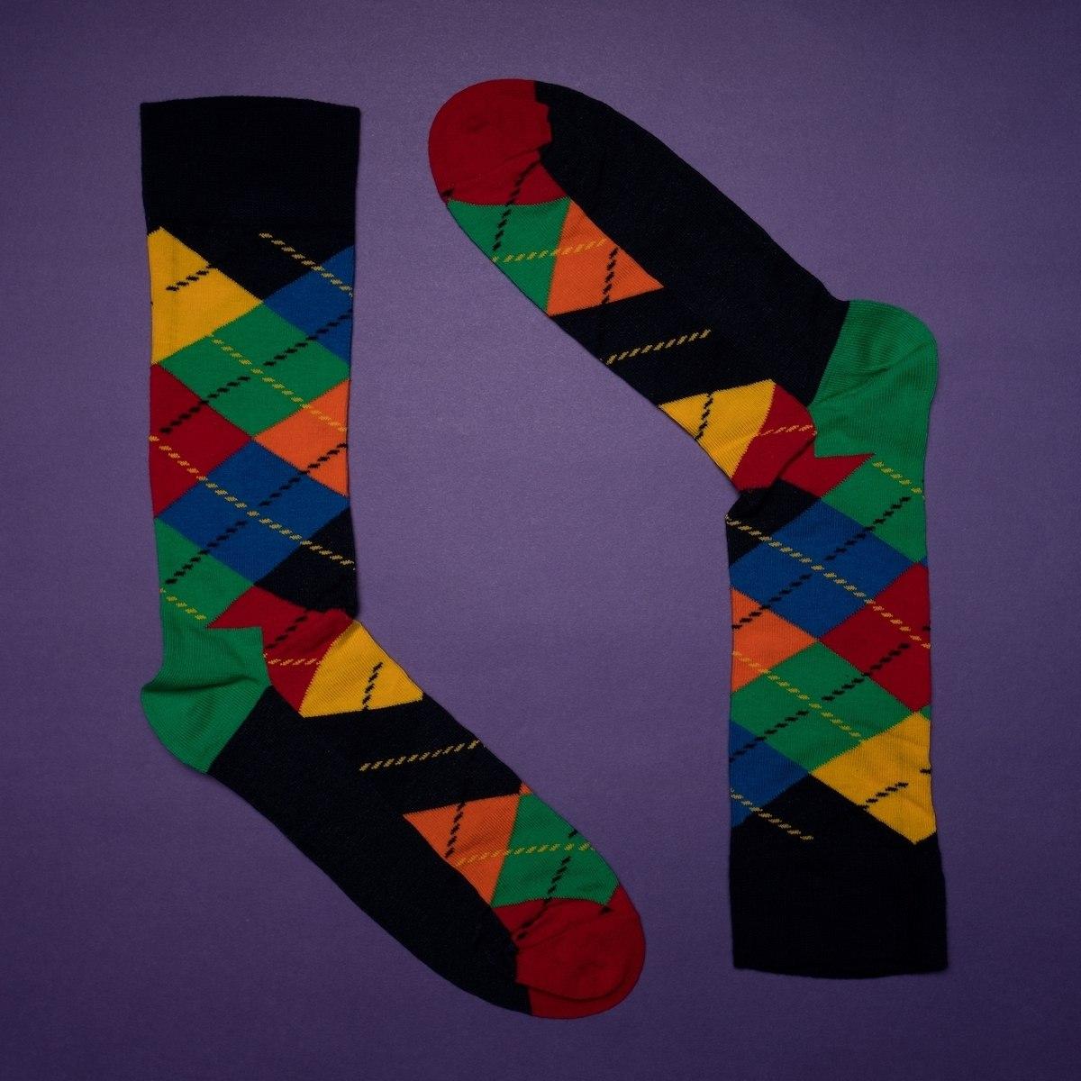 Men's Oxford Socks In...