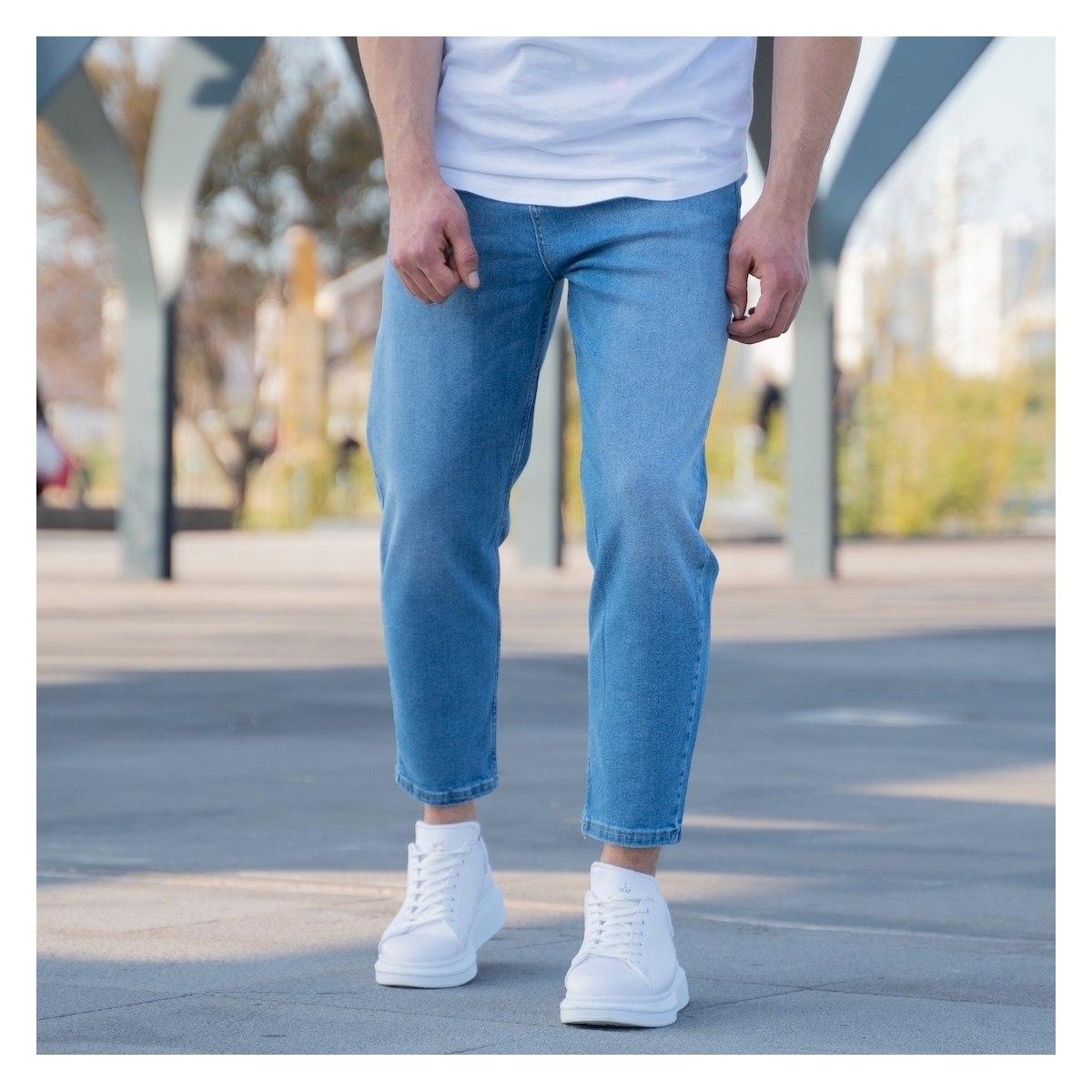 Men's Oversize Jeans In Blue