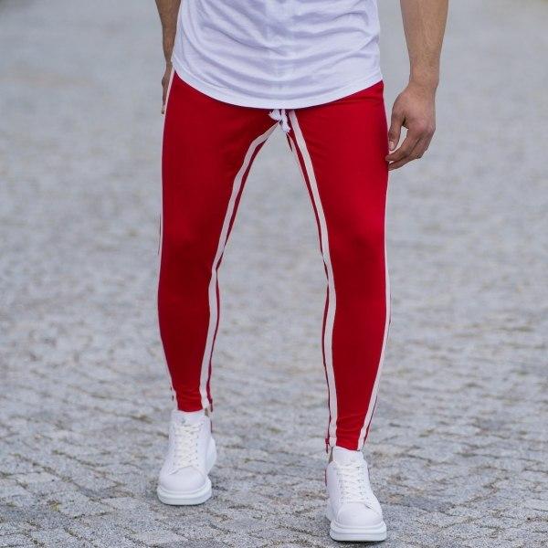 Men's Skinny Double-Striped...