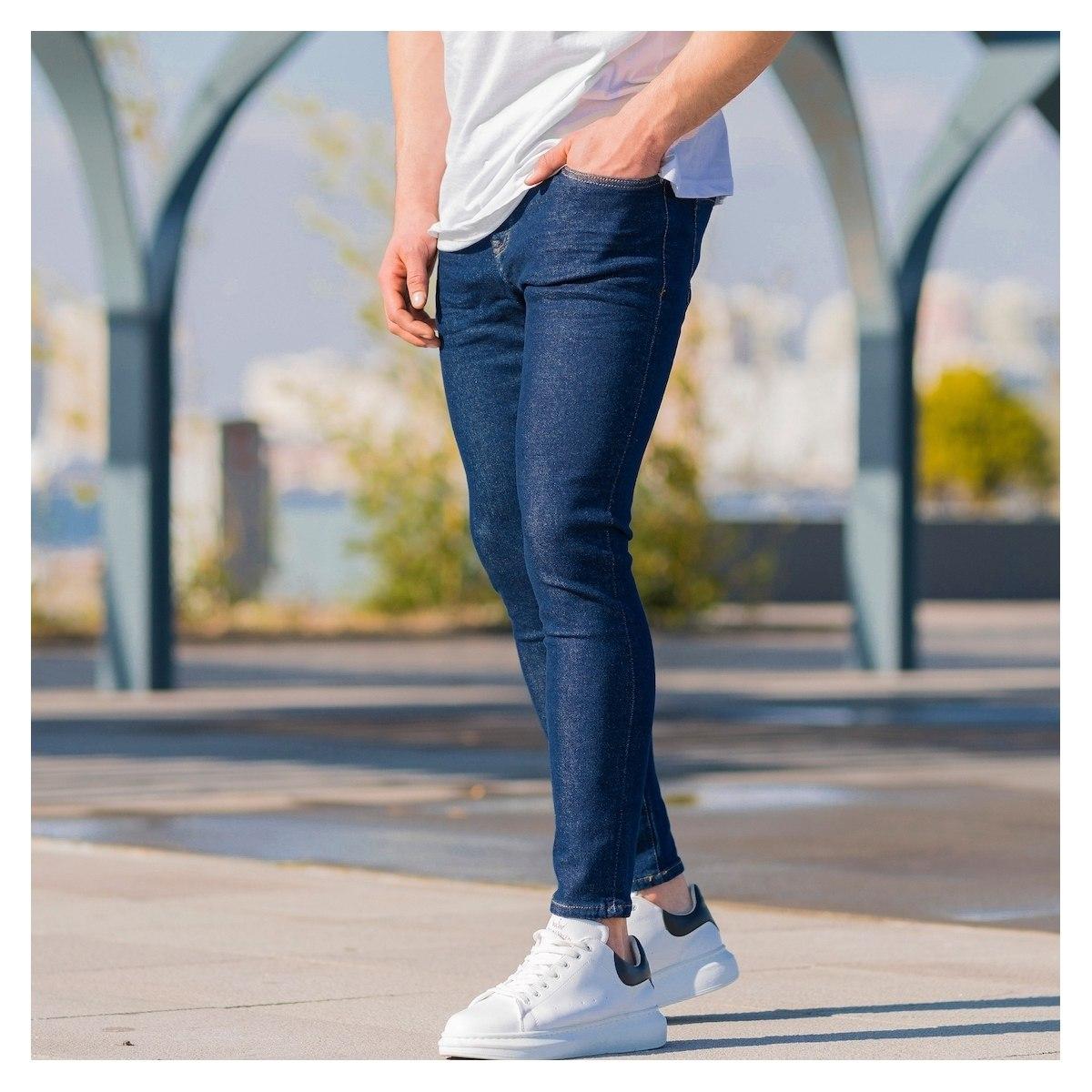 Men's Basic Indigo Jeans