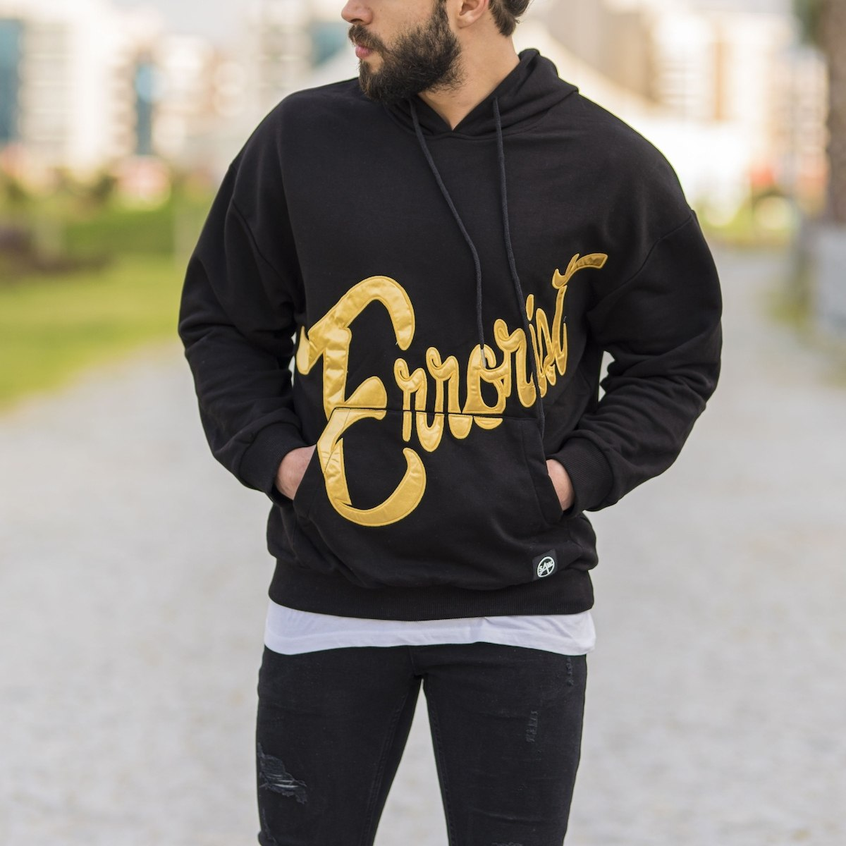 ''Errorist'' Hoodie in Black