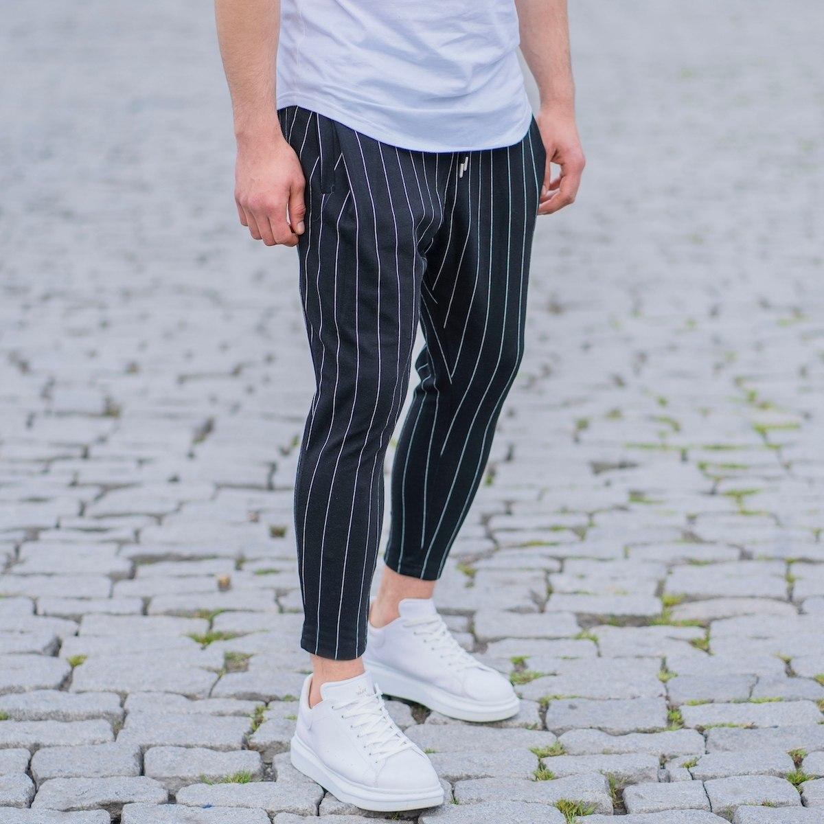 Men's Narrow Striped...