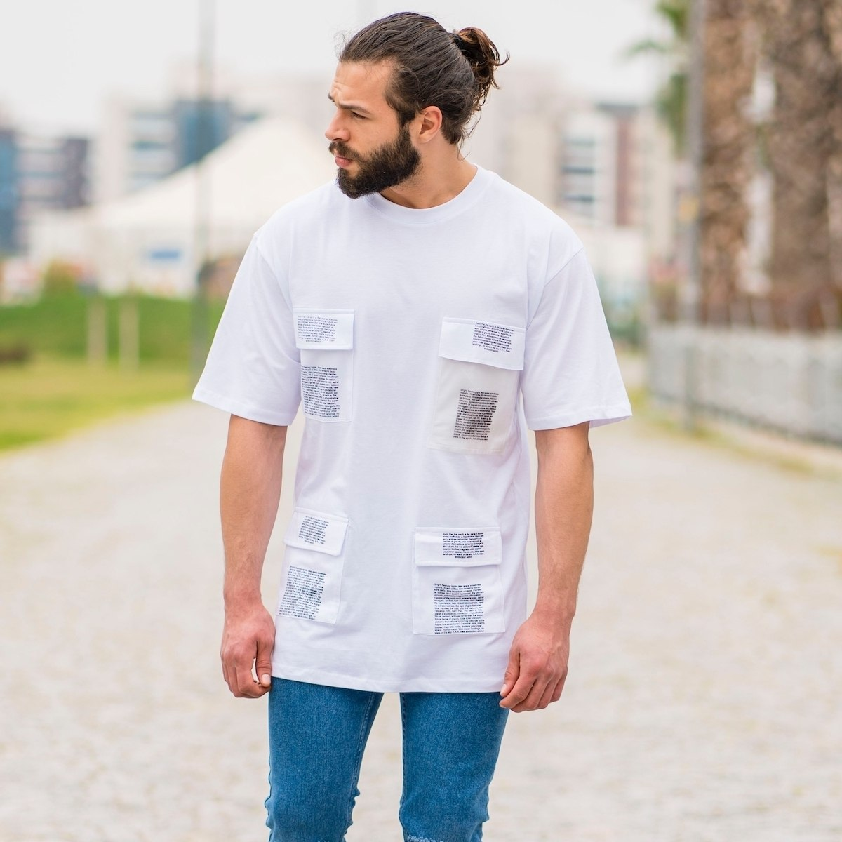 Men's Oversize T-Shirt With...