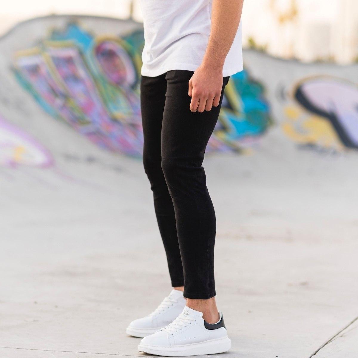 Men's Lycra Narrow Leg...