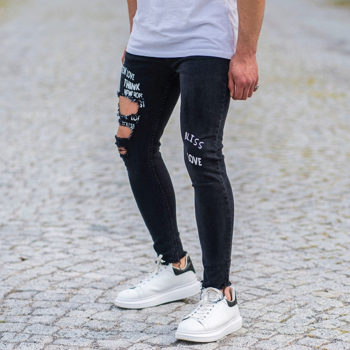 Bliss Jeans In Black