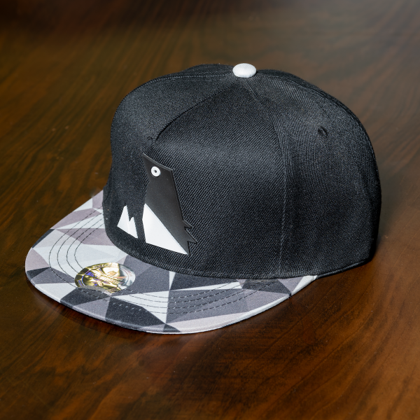 """Mountain"" Cap In Black"