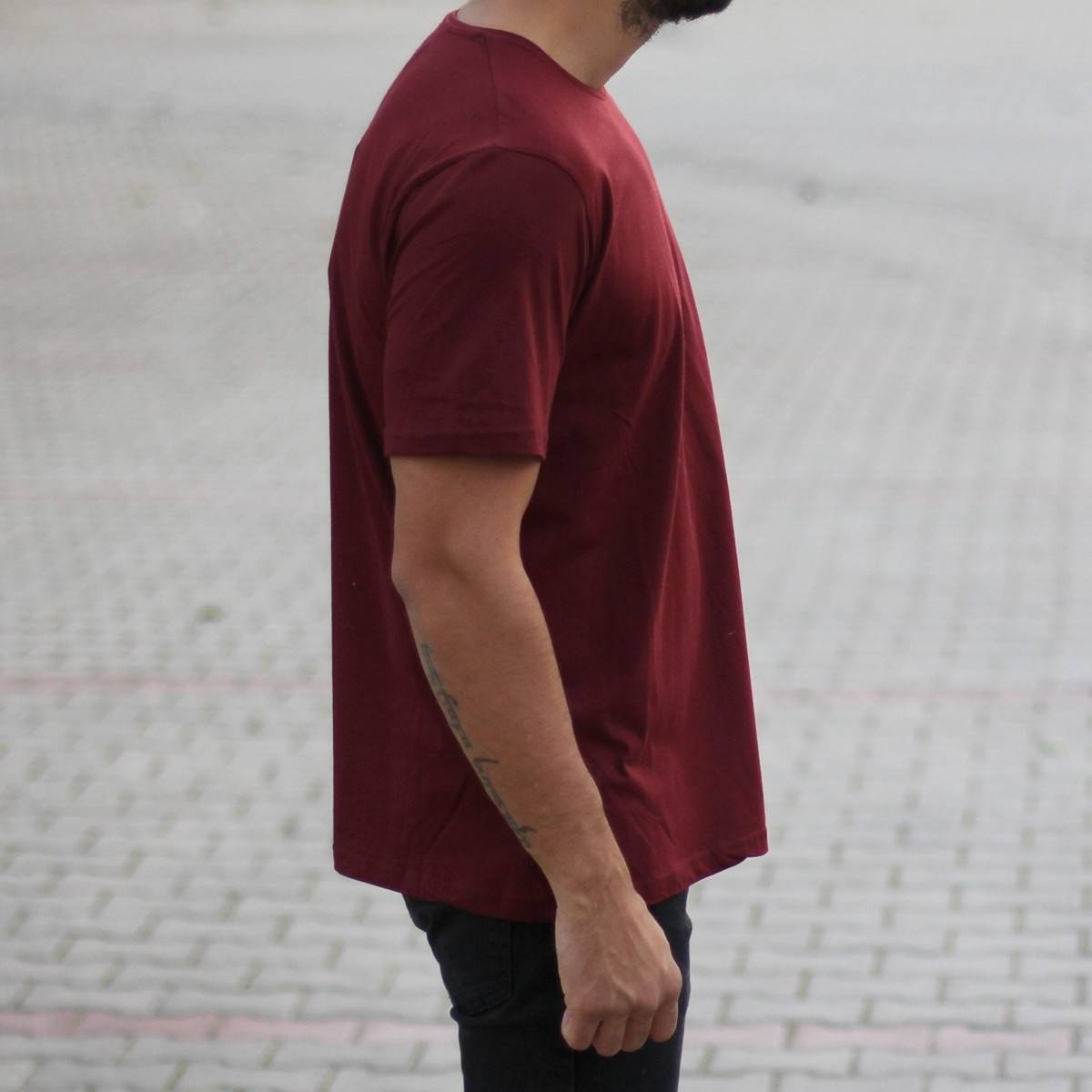 Men's Oversized Basic...