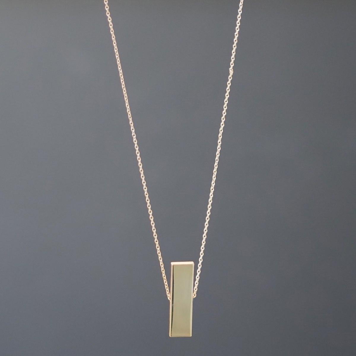 Men's Solid Gold Necklace