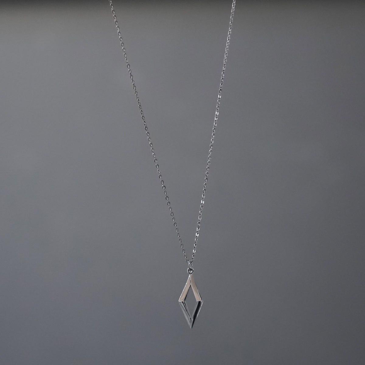 Men's Black Prism Necklace