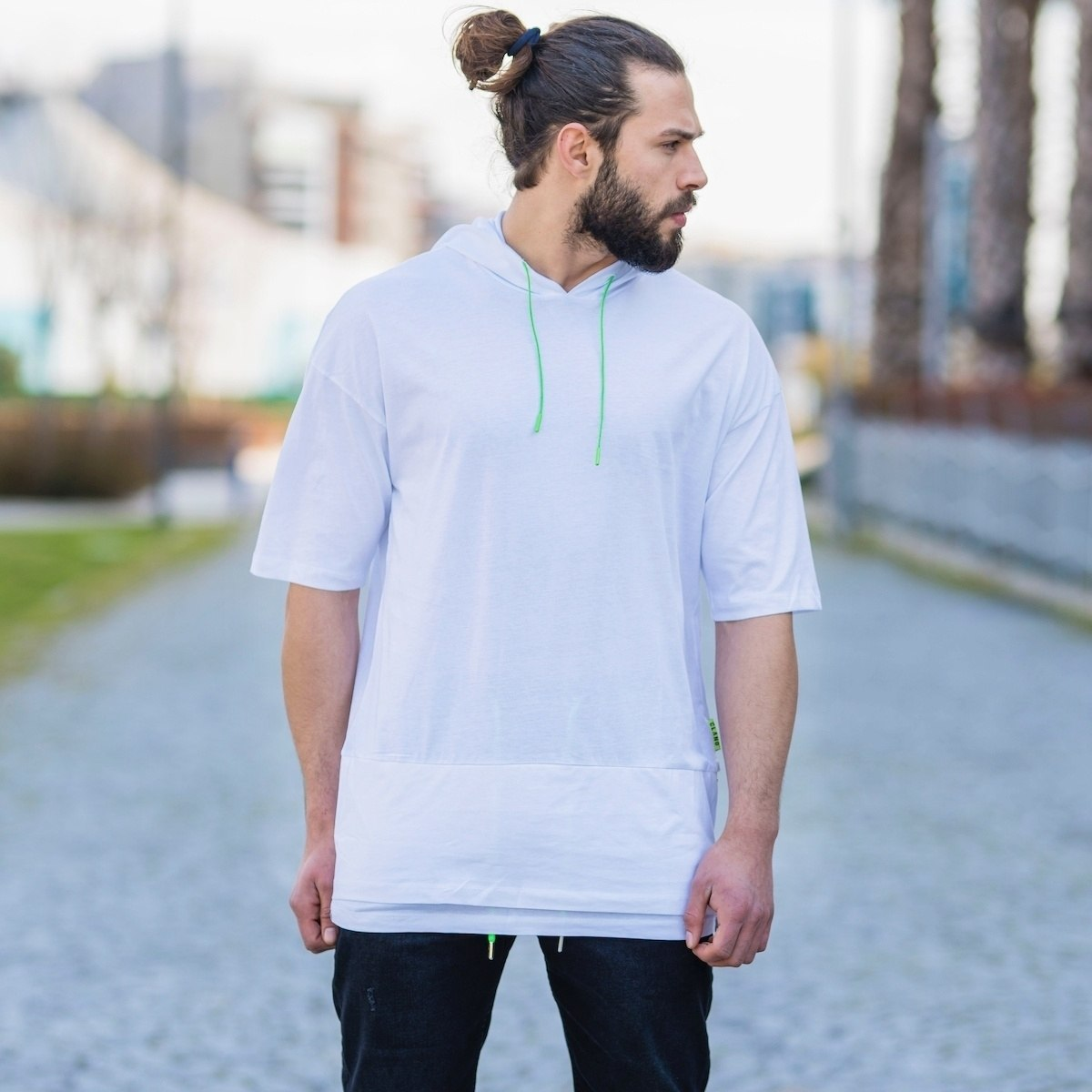 Men's Double-Tailed Hoodie...