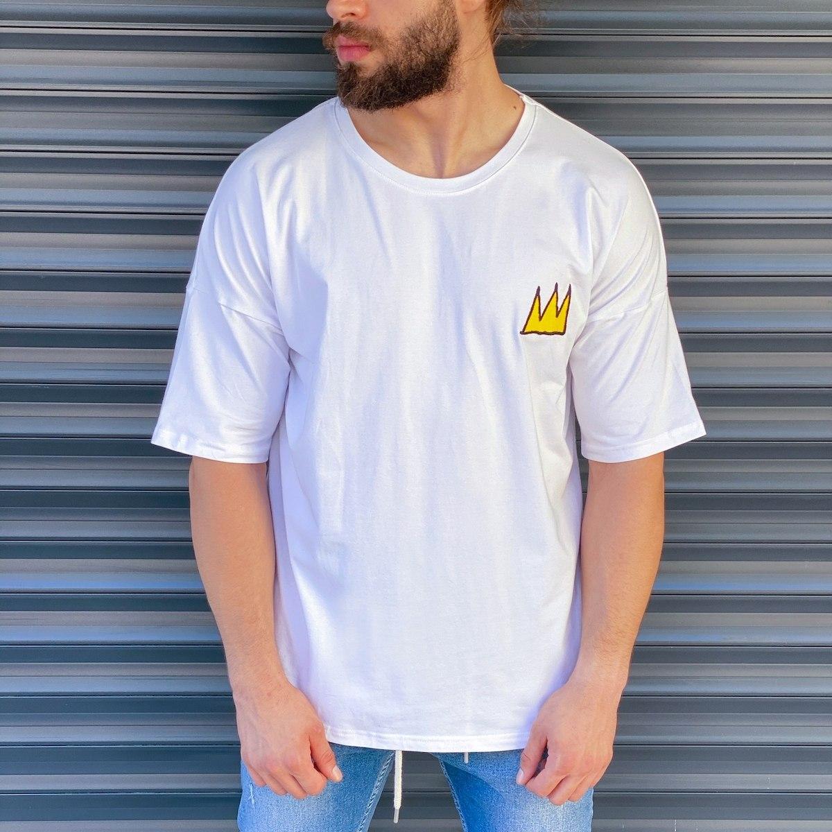 Men's Doodle Patched T-Shirt