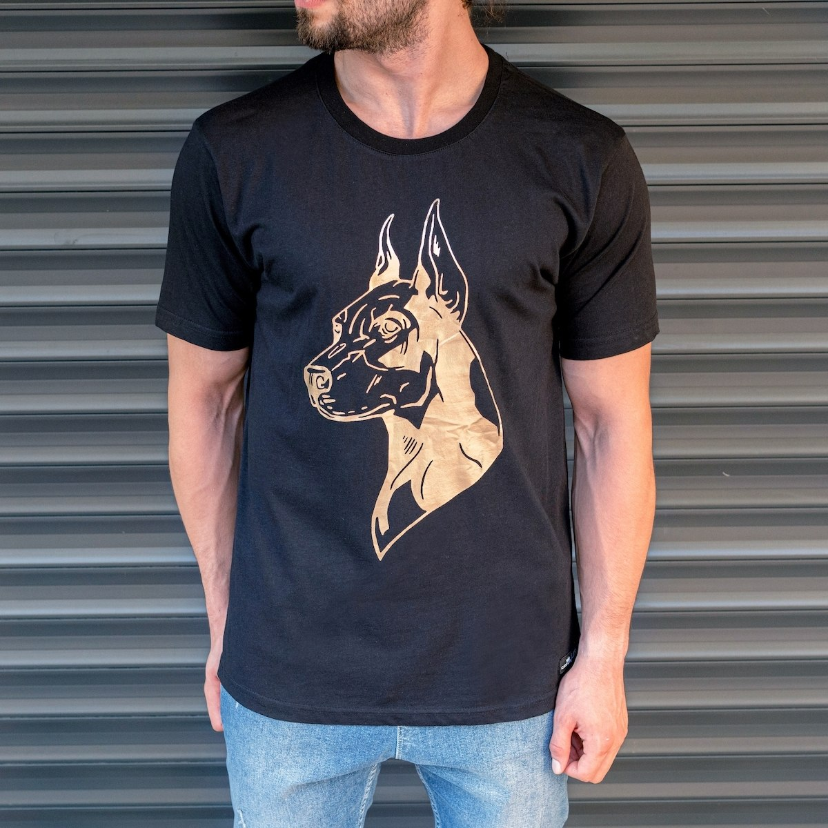 "Herren ""Dobermann"" T-Shirt..."