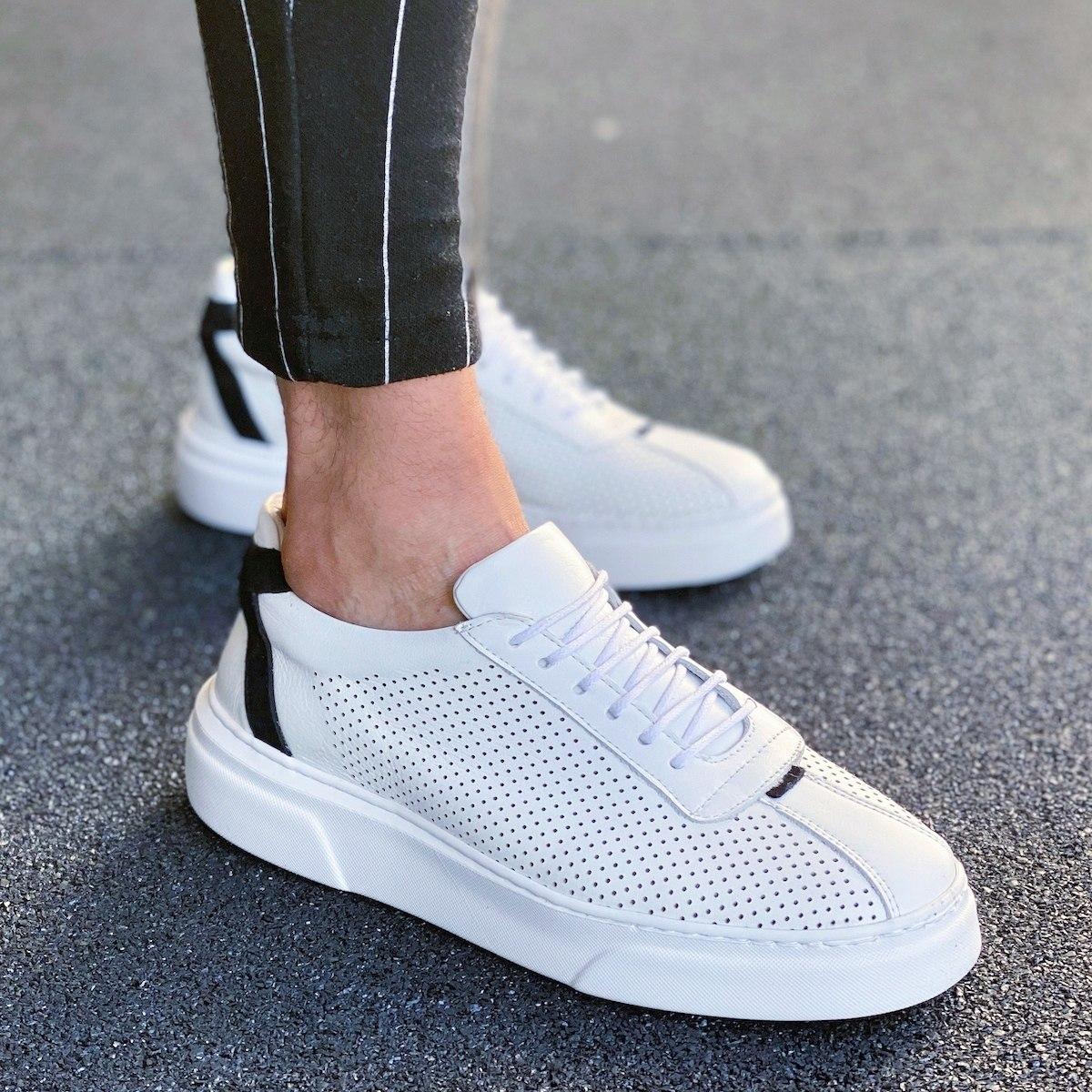 Herren Sneakers Aus Premium...
