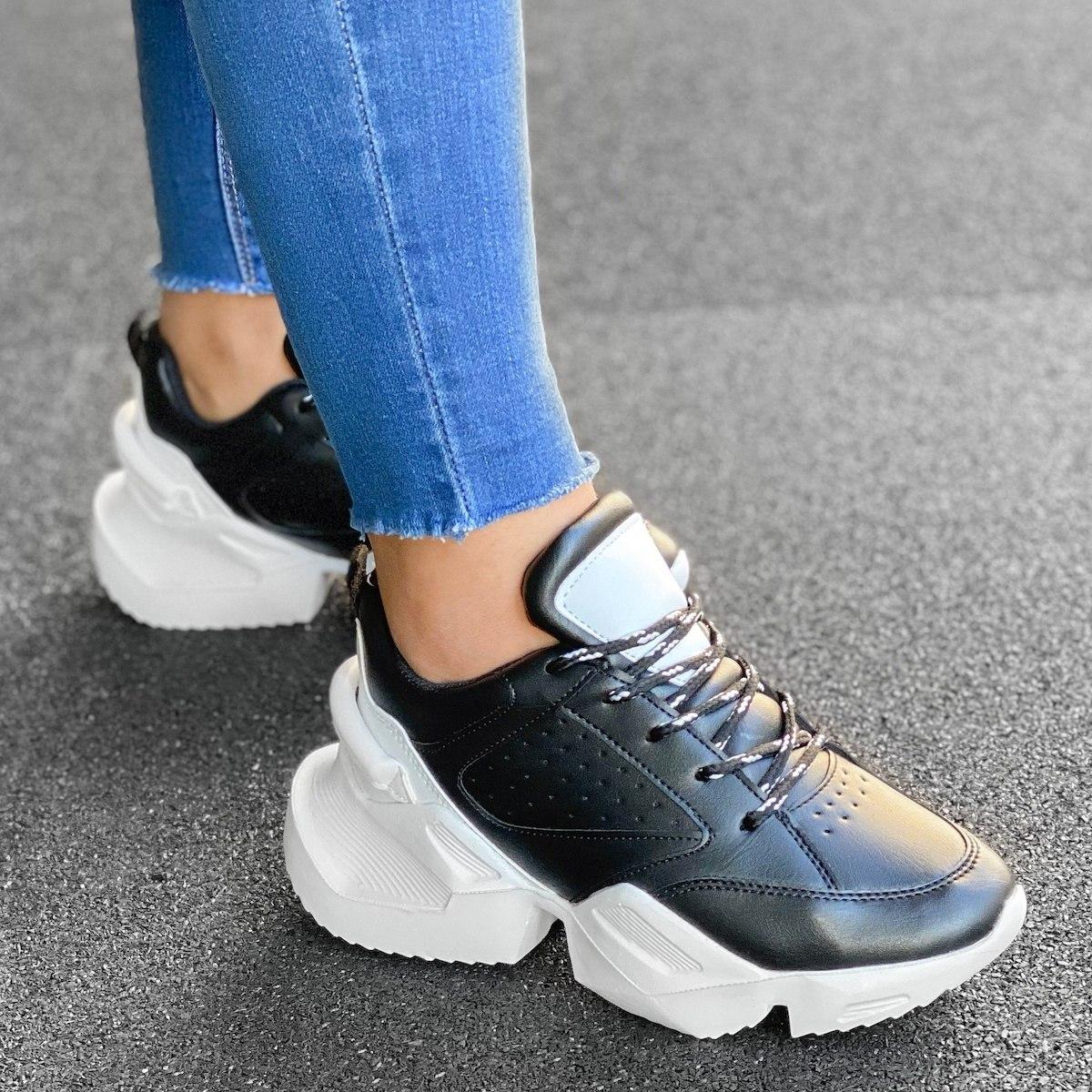 Women's Space Sole Sneakers In Black