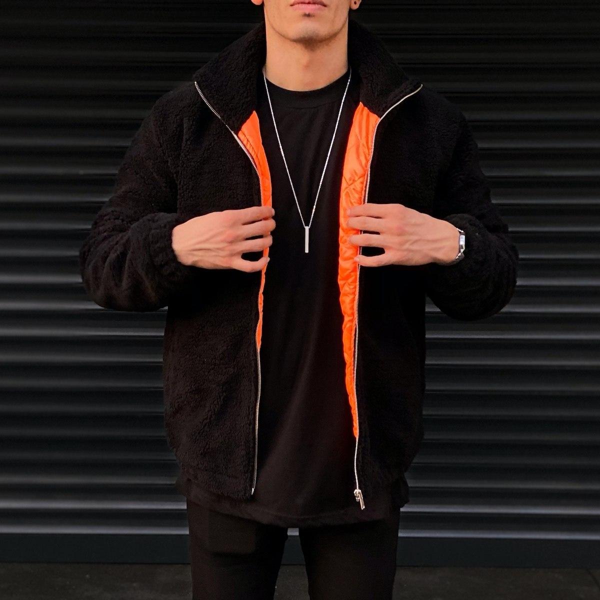 Men's Polar Jacket In Black