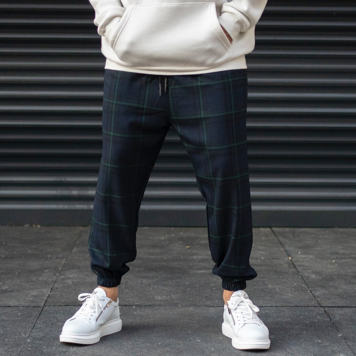 Men's Plaid Oversize...
