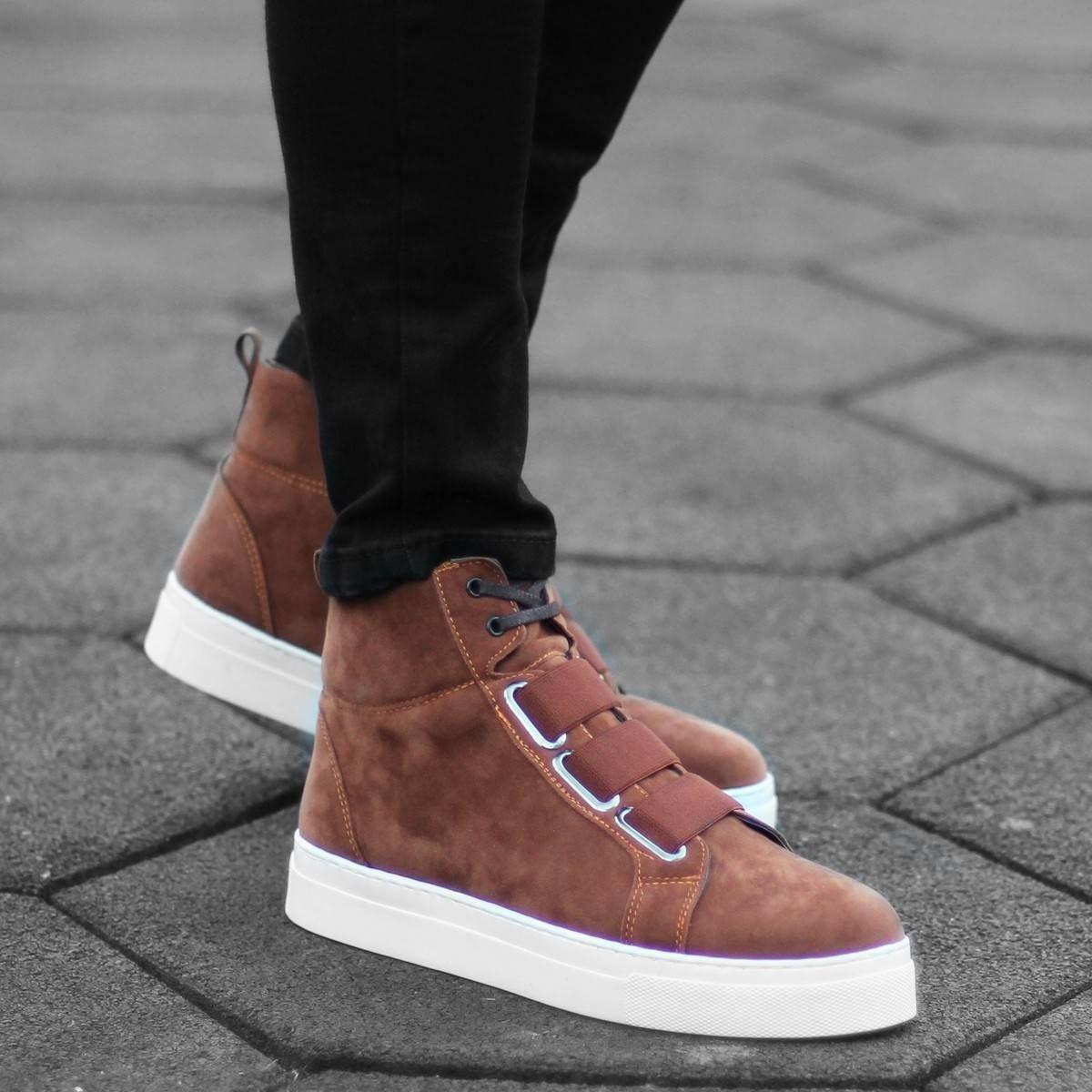 Herren Velcro Boots
