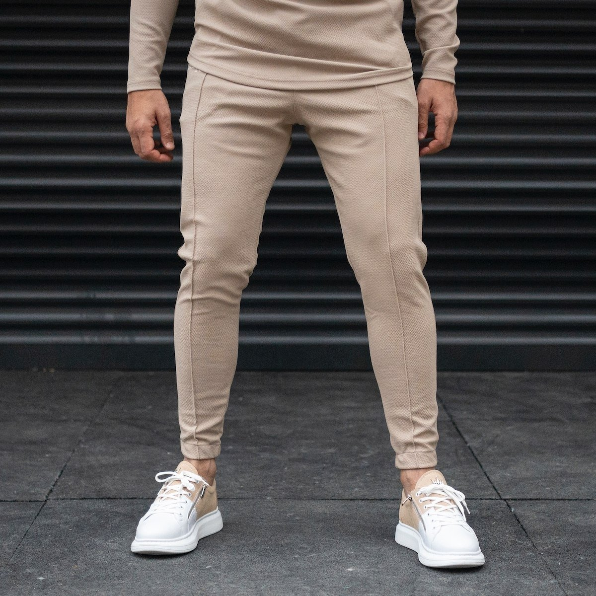 Men's Front Corded Jogger...