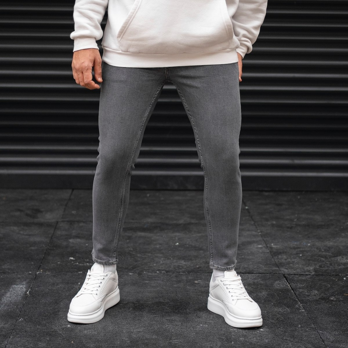 Men's Basic Skinny Jeans In...