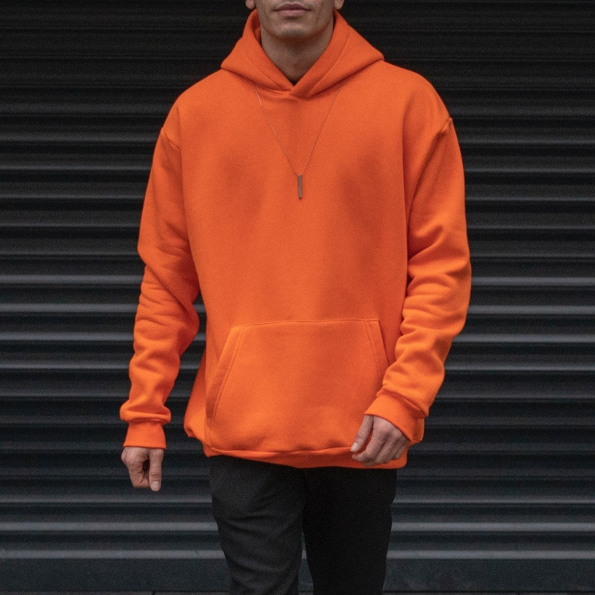 Men's Oversize Hoodie With...