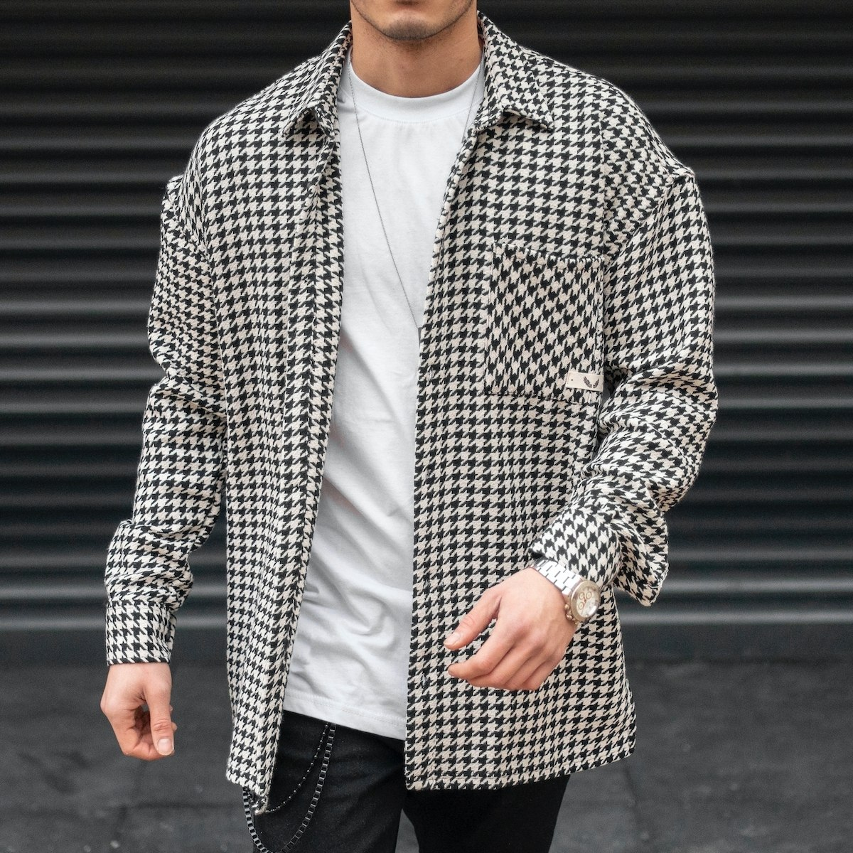 Men's Plaid Patterned...
