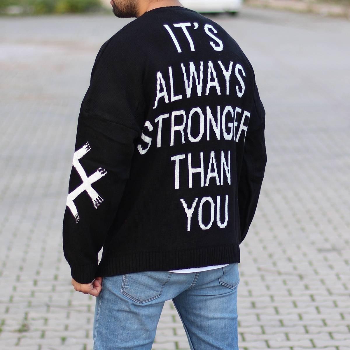 Men's Stronger Pullover Black