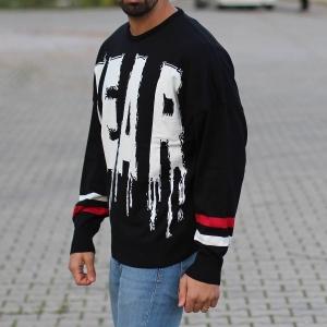 Men's Fear Pullover Black Mv Premium Brand - 2
