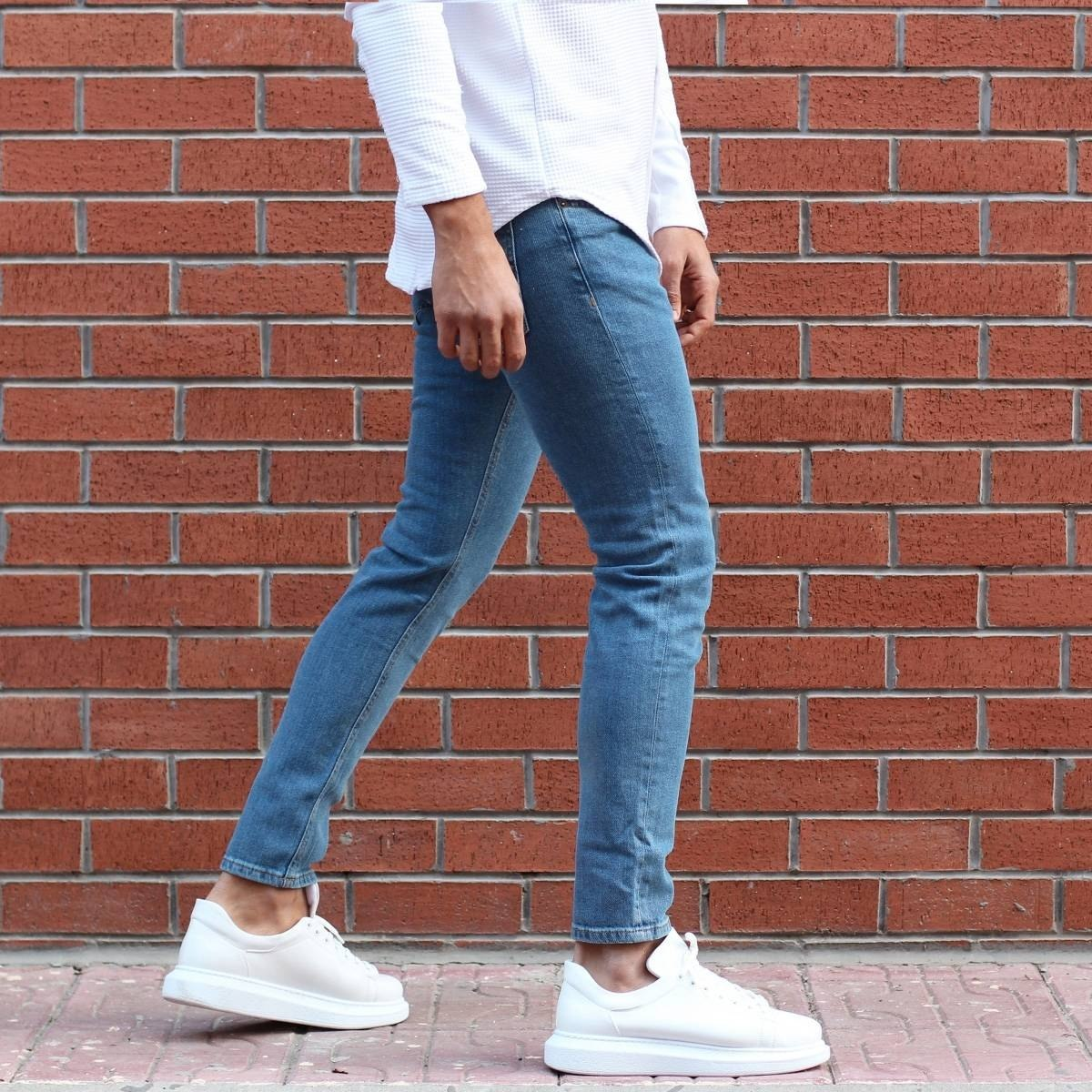 Men's Lycra Narrow Leg Jeans