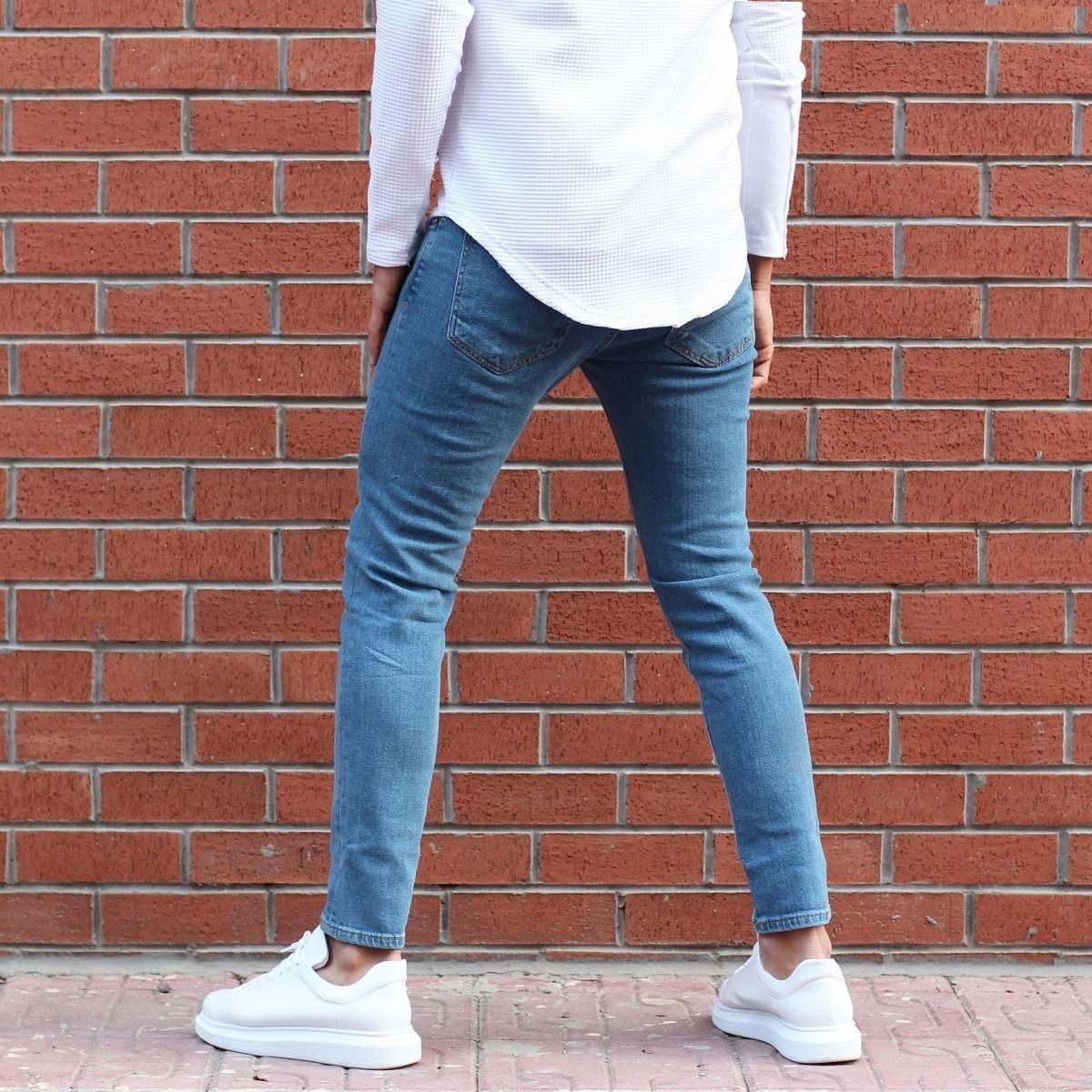 Men's Lycra Narrow Leg Jeans