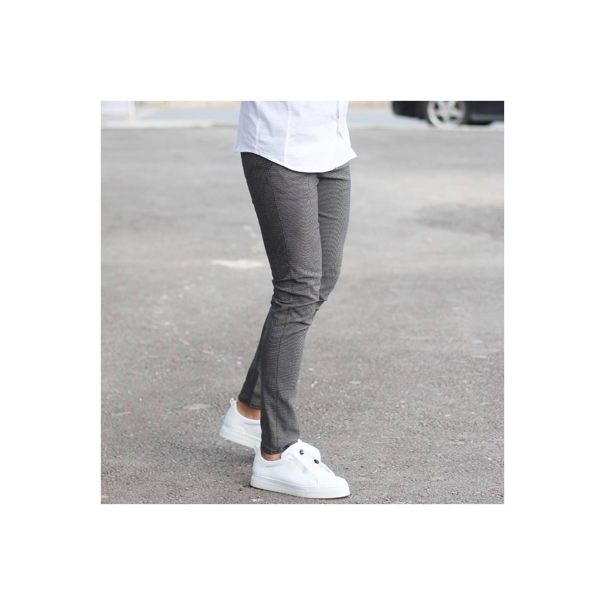 Men's Skinny Jeans Cool Edition New Gray