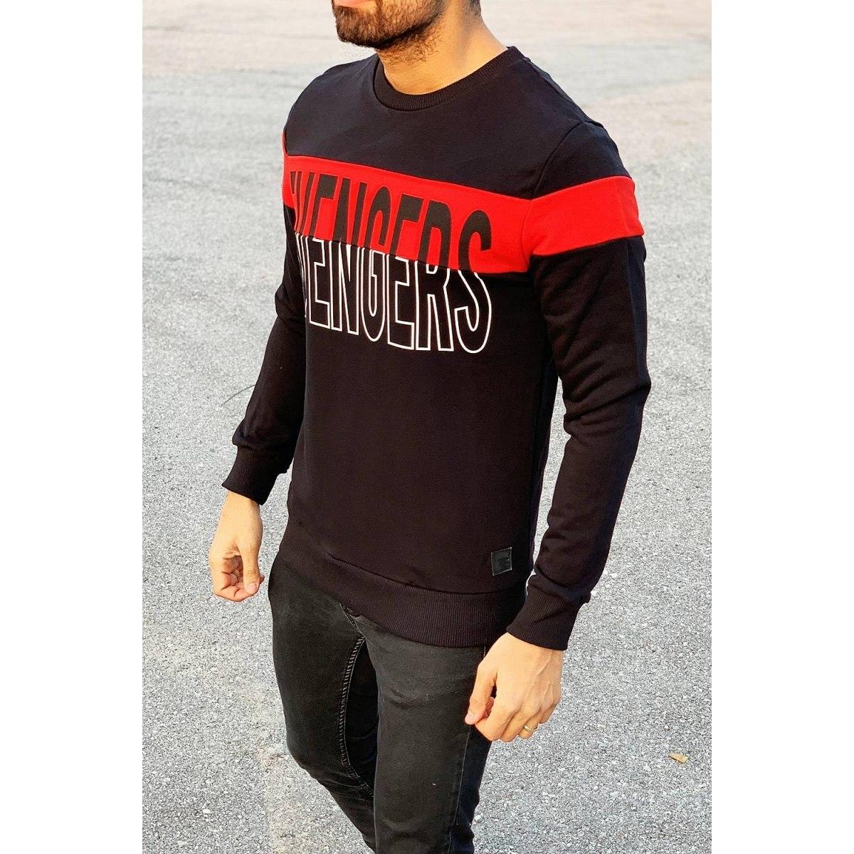 Evengers Sweatshirt in Black Mv Premium Brand - 2