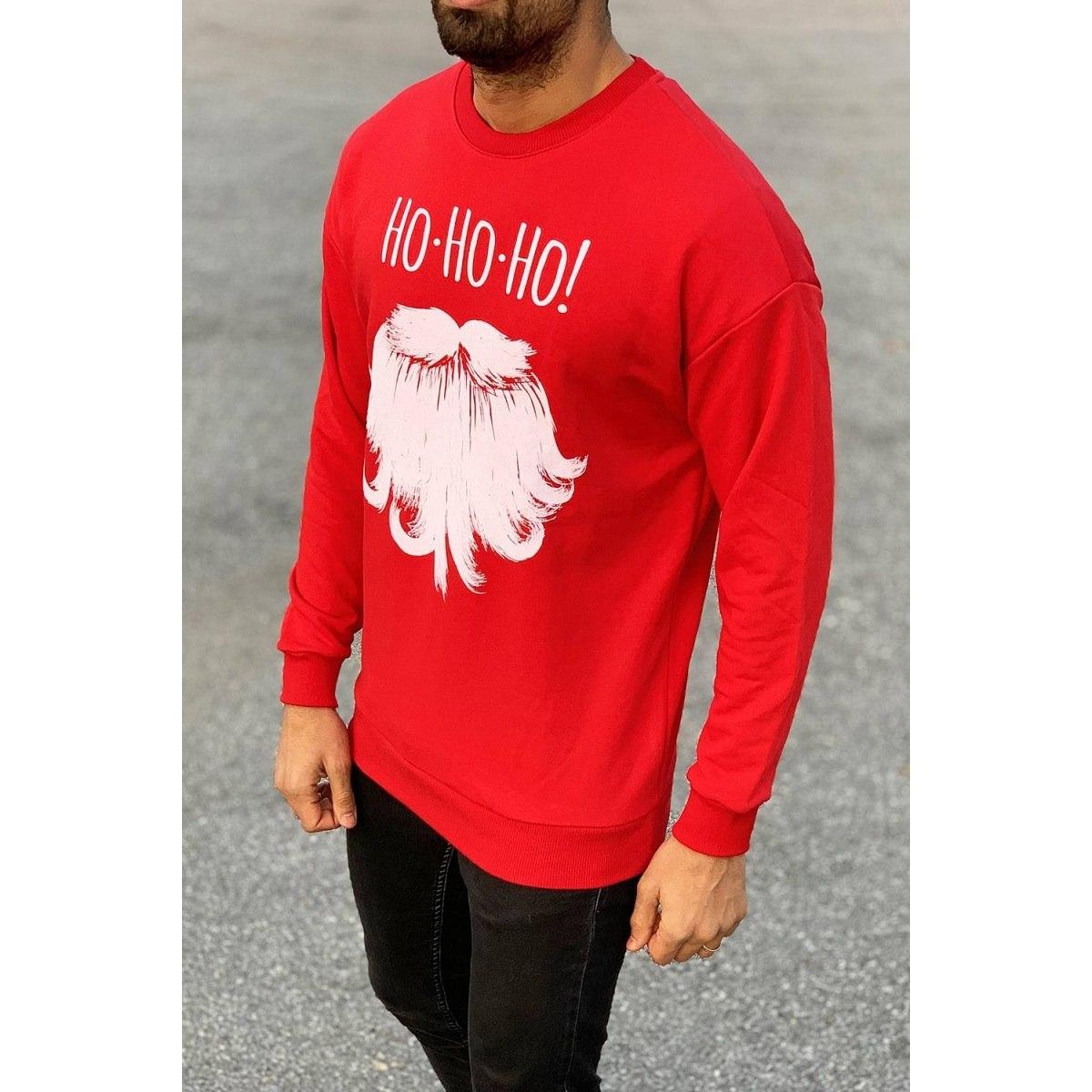 Santa Sweatshirt in Red