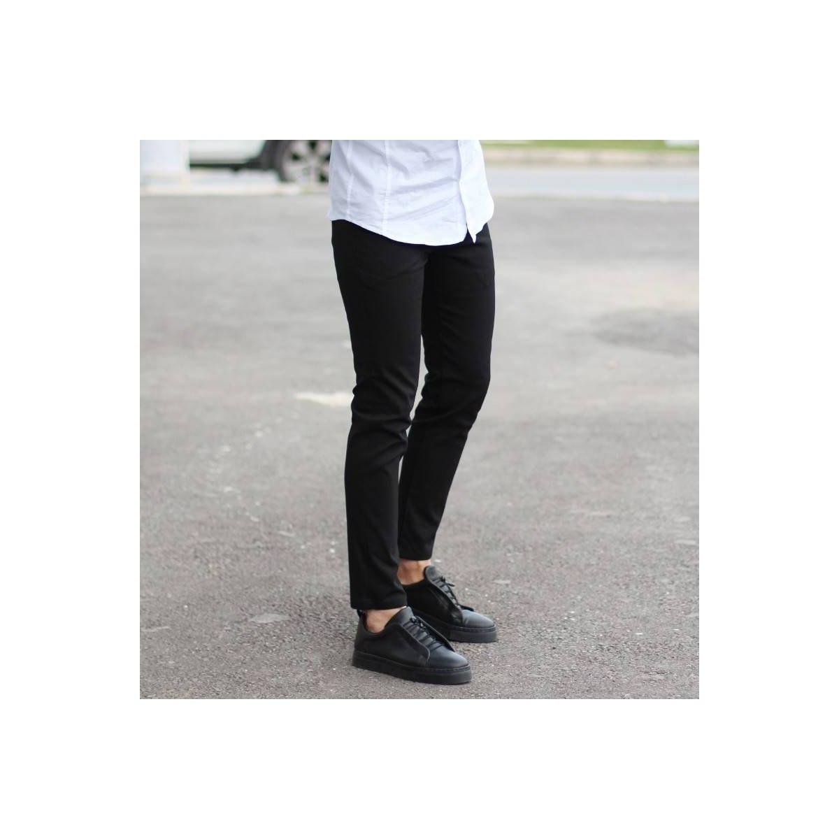Men's Skinny Trousers Cool...