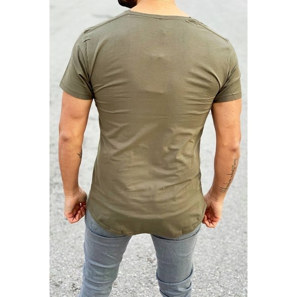 Muscle-Fit T-Shirt in Khaki