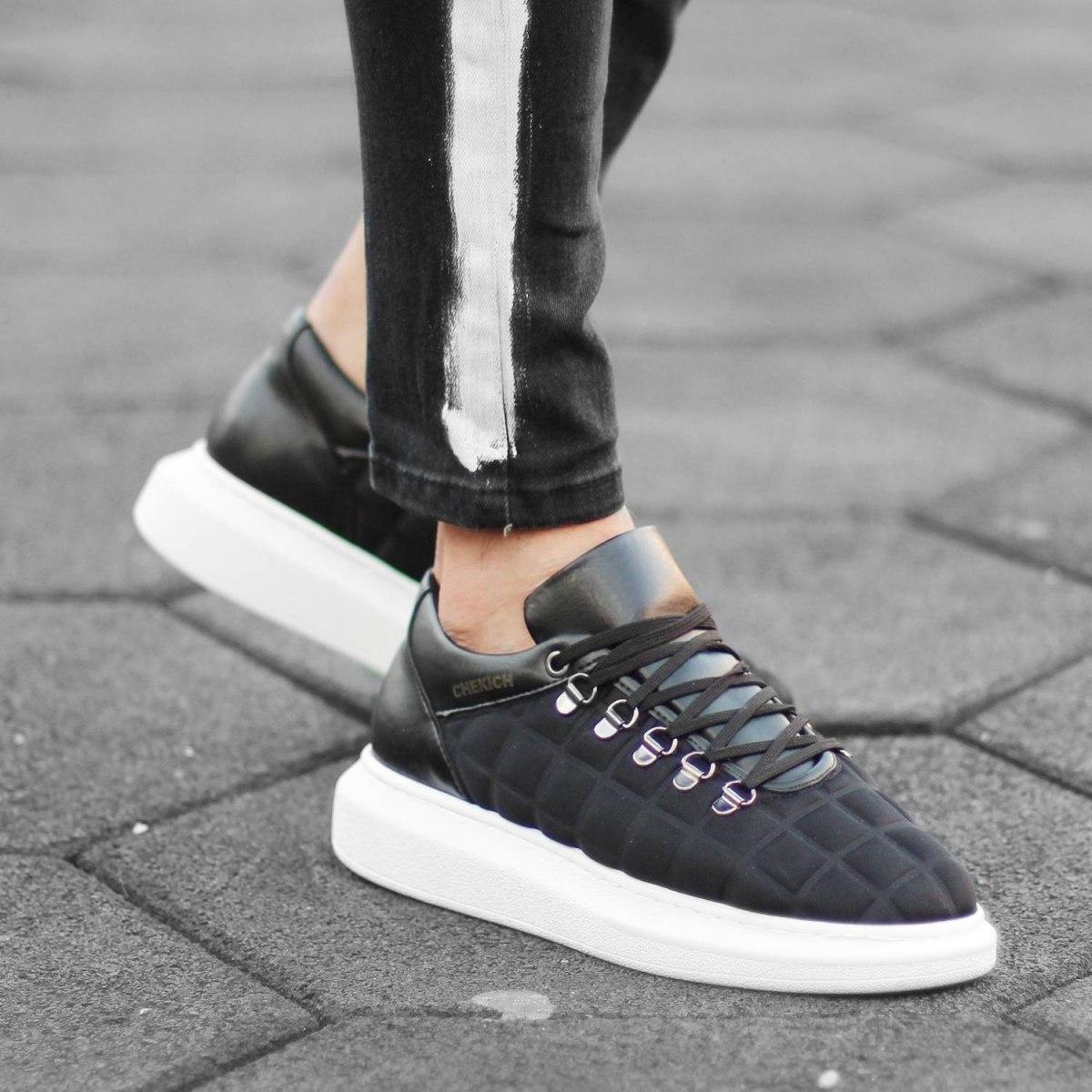 MV Mega Sole Black&White Turtle Shell Sneaker MV Sneaker Collection - 1