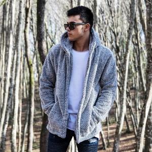 Well-soft Winter Hoodie Jacket in Gray Mv Premium Brand - 1