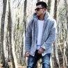 Well-soft Winter Hoodie Jacket in Gray Mv Premium Brand - 4