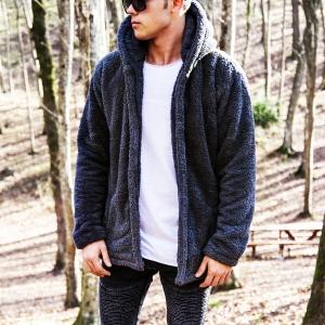 Well-soft Winter Hoodie Jacket in Black Mv Premium Brand - 1