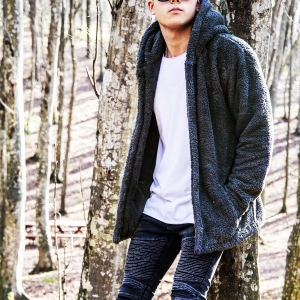 Well-soft Winter Hoodie Jacket in Black Mv Premium Brand - 3