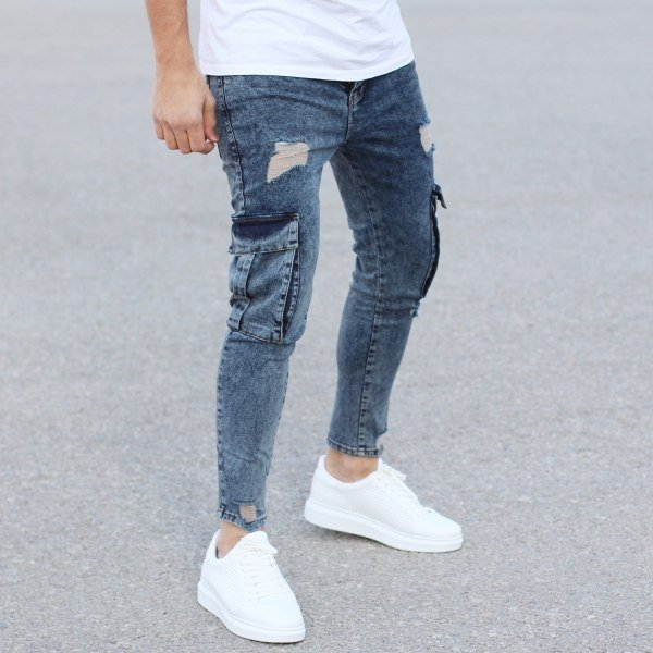 Blue Jeans With Big...