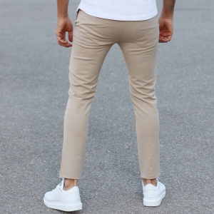 Comfort Smart-Wear Pants in Beige Mv Premium Brand - 1