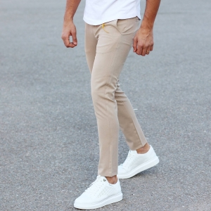 Comfort Smart-Wear Pants in Beige Mv Premium Brand - 2