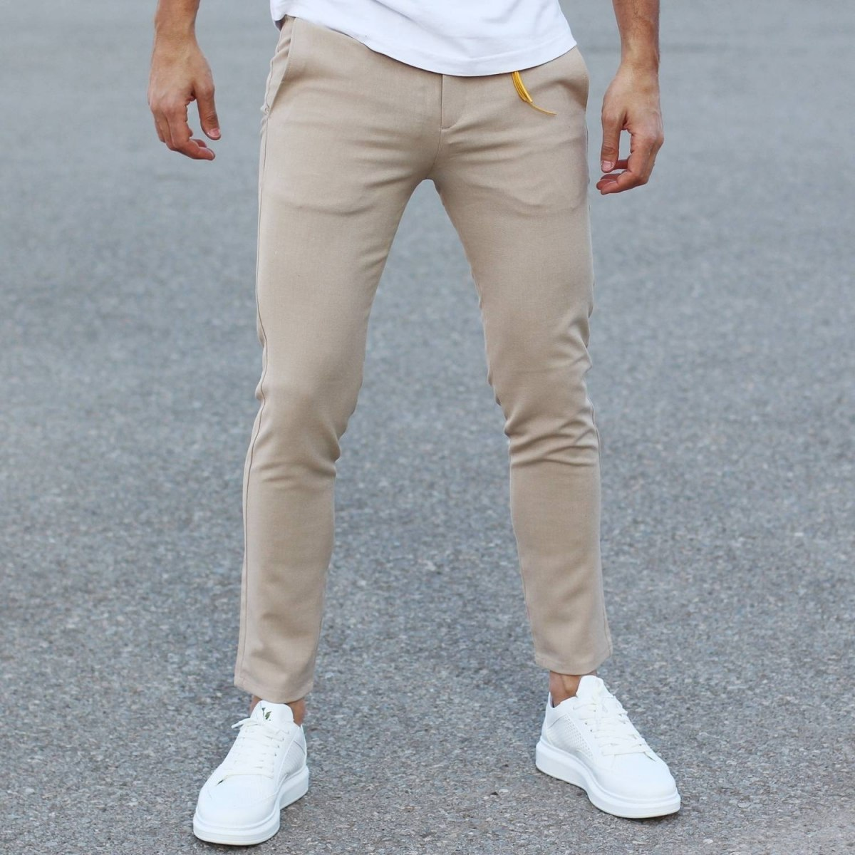 Comfort Smart-Wear Pants in Beige Mv Premium Brand - 3
