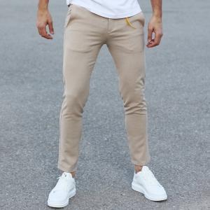 Comfort Smart-Wear Pants in Beige Mv Premium Brand - 3
