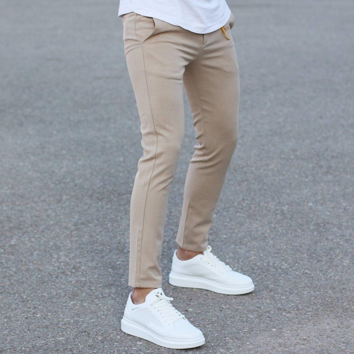 Comfort Smart-Wear Pants in Beige Mv Premium Brand - 4