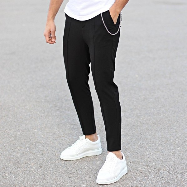 Smart-Casual Pants With...