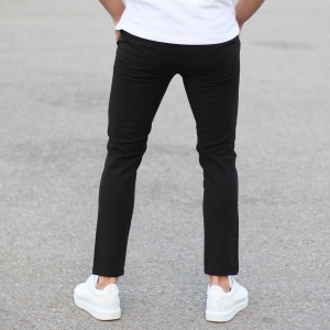Slim Smart-Wear Pants in Black Mv Premium Brand - 2